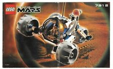 Life on Mars Lego 7312 T-3 Trike instructions booklet manual