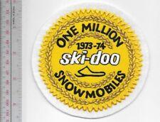 Snowmobile Ski-Doo Bombardier One Million Sleds 1973 74 Valcourt, QC Promo Patch