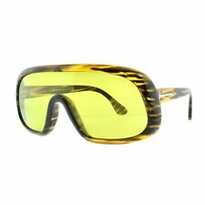 fd164f3a48 Tom Ford Sven TF0471 41N Havana   Yellow Mask Full Rim Women 100% UV  Sunglasses