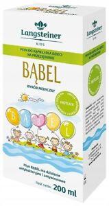 BĄBEL Bath Lotion For Kids/Plyn Do Kapieli Na Przeziebienia 200ml