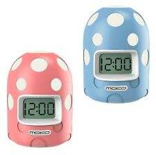 MoKo Cute Kids Digital Alarm Clock Color Changing Night Light Snooze Backlight