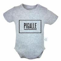 Yeezy Pigalle Newborn Romper Baby Short Sleeve Jumpsuit Bodysuit Clothes Sets