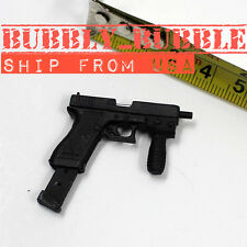 "1/6 Black Pistol Gun With Clip & Rein For 12"" Hot Toys Arnold BBI SHIP FROM USA"