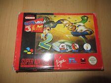 Earthworm Jim 2 En Caja Nintendo Snes PAL