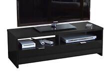 Banco Banc TV 110 cm Noir Haute brillance AUCUNE