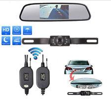 Wireless 170° Car Rear View System Backup Reverse Camera Night Vision Kit