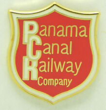 Railroad Hat-Lapel Pin/Tac -Panama Canal Railway Co.  (PCR)  #1721 -NEW