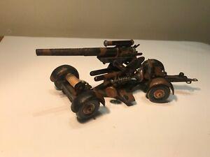 Tippco Blechspielzeug Militärspielzeug Feldhaubitze