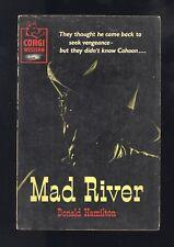 Mad River Donald Hamilton Matt Helm Author UK Corgi Western T588 1st 1958 GD/VG