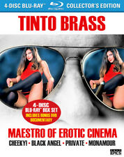 TINTO BRASS: MAESTRO OF EROTICA Tinto Brass (4x Blu-ray/1xDVD) OUT OF PRINT