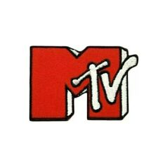 Mtv Music Television Vintage Retro Style 90s Iron on Patch Fashion 80s Applique