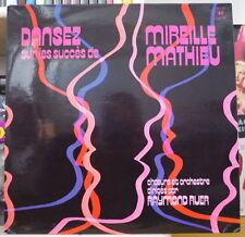 RAYMOND RUER DANSEZ AVEC LES SUCCES DE MIREILLE MATHIEU FRENCH LP