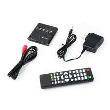 US Mini 1080P Full HD Media Player-With MKV/RM-SD/USB HDD-HDMI Function Black U7