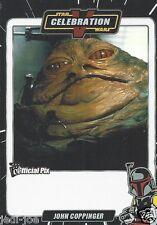 John Coppinger Official Pix Star Wars Autograph Trading Card Celebration V Exc