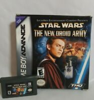 Gameboy Advance Star Wars: New Droid Army Nintendo (GBA) Tested Cartridge & Box