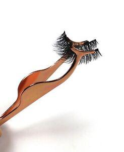 Rose Gold Magnetic Eyelash Applicator Tool for Magnetic Lashes & False Eyelashes