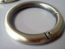 """Ring """"spring gate O-ring"""" for handle purses or any other hobby job"""