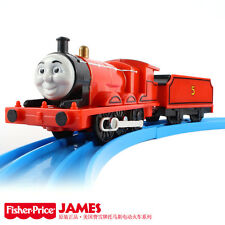 NEW LOOSE RARE FISHER TRACKMASTER THOMAS BATTERY MOTORIZED TRAIN JAMES + TENDER