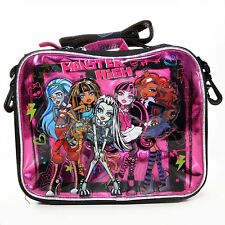 Monster High 3D LUNCH BAG by Disney - For KID BRAND NEW - Licensed product