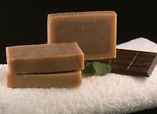 "Handmade Natural ""Chocolate&Mint"" Soap Bar 75-80g Vegan SLS/SLES/Paraben free"