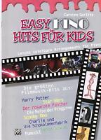 Klavier Noten : Easy KINO Hits für Kids  - Filmmusik -  leichte Mittelstufe