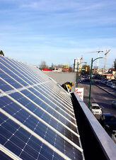 10X 12V 100W MONO SOLAR PANEL OFF GRID RV BATTERY CHARGER 1000 WATT + Z Mounting