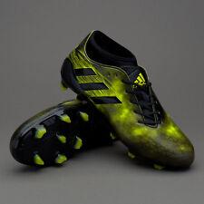 adidas Adizero Malice FG Rugby Boots Black/Yellow Uk 10 Eur 44 EM33 47