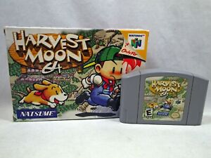 Harvest Moon 64 (Nintendo 64 | N64) Authentic BOX and CART Tested Very Rare