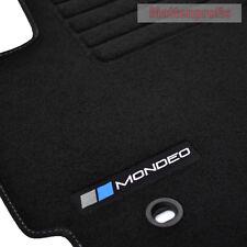 Mattenprofis Velours Logo Fußmatten für Ford Mondeo III ab Bj.10/2000 -2007