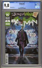 Batman #95 CGC 9.8 Jorge Jimenez Cover (2020) The Joker War Highest Graded