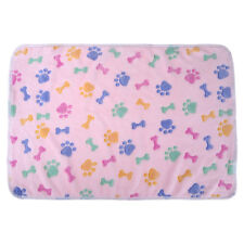 Pet Dog Soft Velvet Warm Blanket Mat Puppy Cat Winter Bedding Pad Kennel Cushion