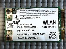 Genuine Dell WX781 0NC293 NC293 WM3945ABG Wireless WiFi Mini PCi-e Card Used