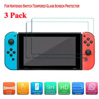 3Pack For Nintendo Switch Lite Premium 9H Tempered Glass Screen Protector Guard