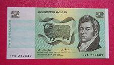 Australia Nuovo di zecca due ($2 -) Dollari Fraser & Cole BANCONOTA UNC.
