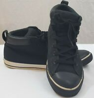 Converse All Star Mens 11 Black Mid Tops Sneakers Chuck Taylor Shoes