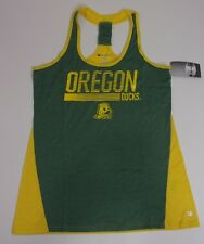 Champion Womens Large Oregon Ducks Athletic Sleeveless Shirt Tank Top NEW w Tags
