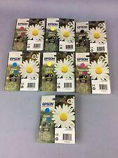 Epson Ink Cartridges 18XL Black, Magenta, Cyan, Yellow And Black Ship Worldwide