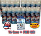 16 Pack HOMEBRIGHT Disinfectant Spray: LINEN Scent - 6 oz.Cans - KILLS 99% Germs photo