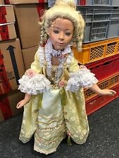 Künstlerpuppe Porzellan Puppe 95 cm. Top Zustand