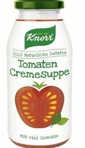 knorr Tomatencreme Suppe 450 ml Glas
