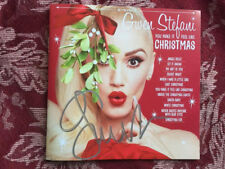 Gwen Stefani Your Make It Feel Like Christmas cd with signed booklet autographed