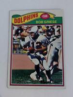 1977 Bob Griese # 515 Miami Dolphins Topps NFL Football Card HOF QB