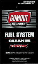 Gumout Professional Fuel System Cleaner 2-Step Kit