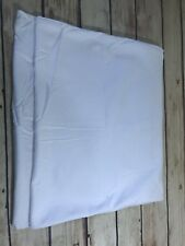 Wamsutta 1Pc Cotton King Pillow Sham Solid White Contemporary Traditional Home