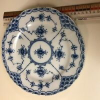 "Antique Blue Fjord Lipper and Mann L & M Dessert Plate 6 1/2"" Trinket Key Dish"