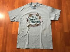 VTG BE A FOSTER PARENT SHIRT LARGE L FAMILIES HAPINESS ADOPTION