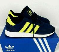 Adidas Originals I-5923 Boost Running Shoes F34270 Dark Blue Solar Mens Size 7.5
