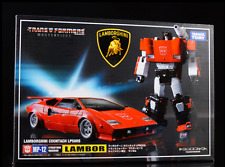 ZW Transformers master MP12 red Sideswipe Lamborghini Boxed!