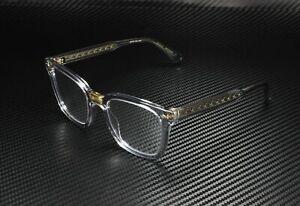 GUCCI GG0184O 005 Rectangular Square Grey Demo Lens 50 mm Unisex Eyeglasses
