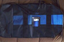Black Blue Aramis Life Andre Agassi Travel Weekend Beach Duffel Gym Carry On Bag